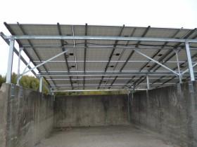 橿原市空き地太陽光発電設置2-3
