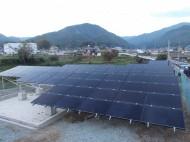 吉野郡空地太陽光発電設置2-1