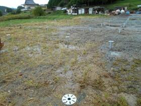 吉野郡空地太陽光発電設置1-1
