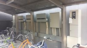 橿原市マンション屋上太陽光発電設置1-2