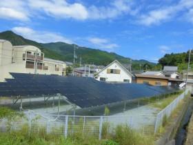 吉野町平尾空地(雑種地)太陽光発電設置1-1