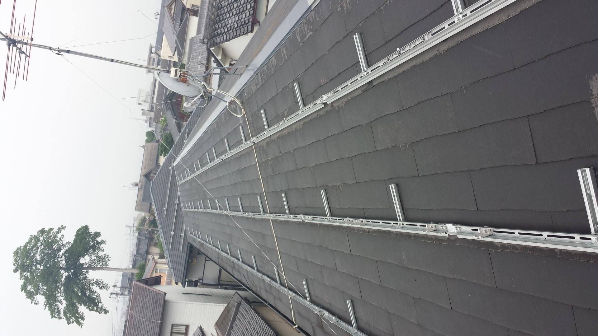 奈良市ハイツ屋根太陽光発電設置1-3