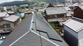 奈良市ハイツ屋根太陽光発電設置1-4