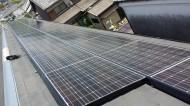 奈良市ハイツ屋根太陽光発電設置1-1