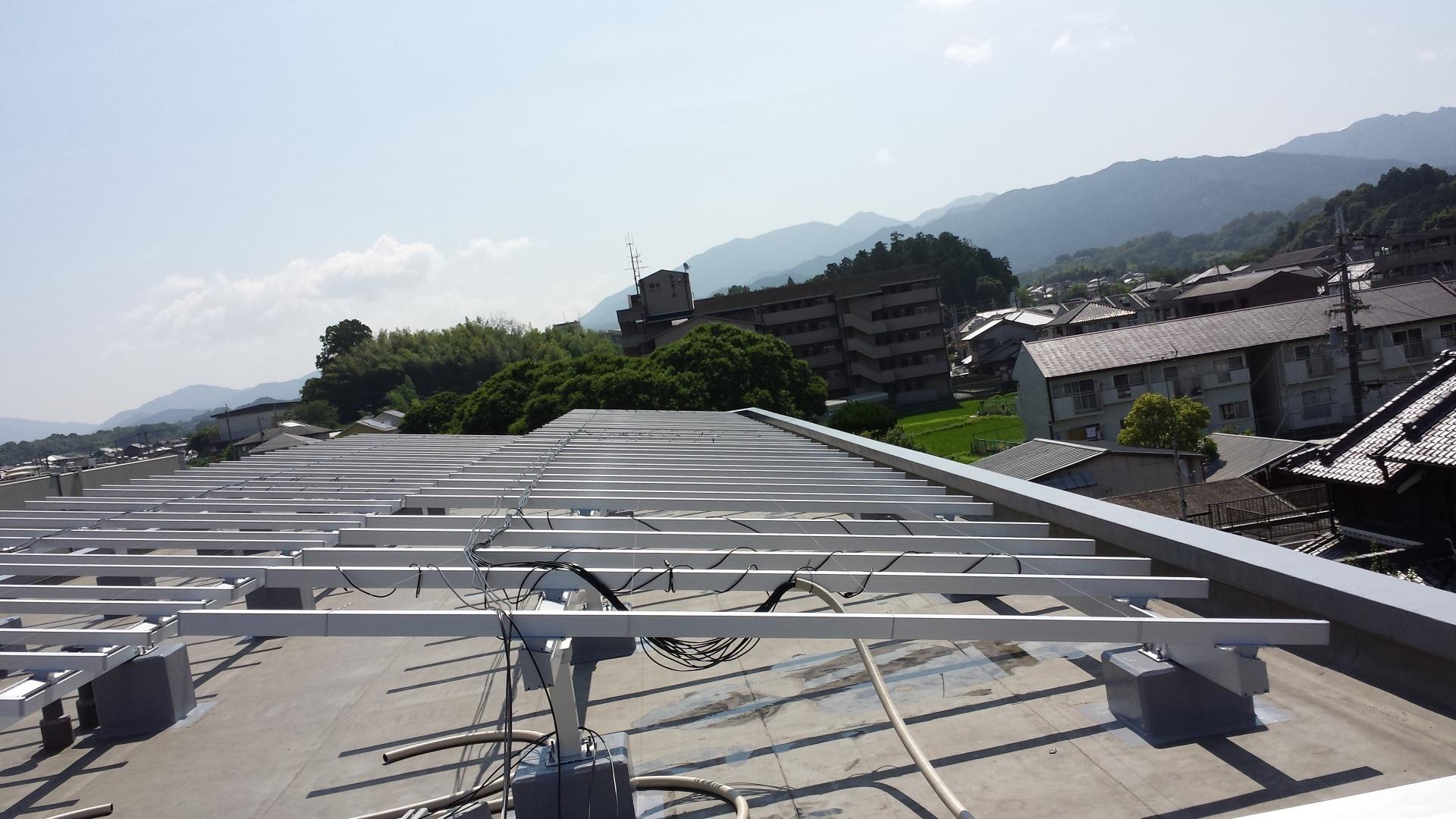 橿原市マンション屋上太陽光発電設置1-4