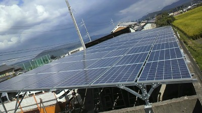 橿原市空き地太陽光発電設置2-6