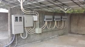 橿原市空き地太陽光発電設置2-4