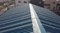 折板屋根用架台