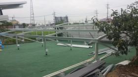香芝市農地太陽光発電設置1-2