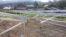 伊賀市太陽光発電架台