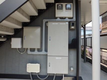 奈良市ハイツ屋根太陽光発電設置1-7