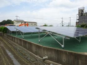 香芝市農地太陽光発電設置1-3