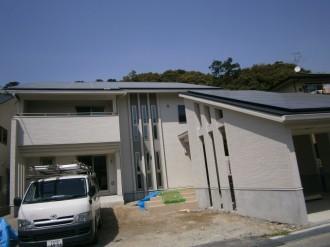 天理市自宅屋根太陽光発電設置1-1