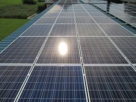 木津川市農業用倉庫屋根太陽光発電設置1-3