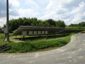 伊賀市農地太陽光発電設置1-2