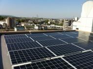 香芝市マンション屋上太陽光発電設置1-1