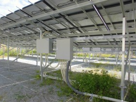 吉野町平尾空地(雑種地)太陽光発電設置1-2