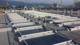 橿原市マンション屋上太陽光発電設置1-1