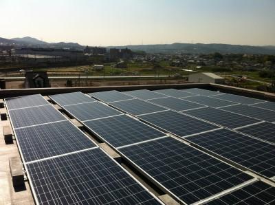 香芝市マンション屋上太陽光発電設置1-3