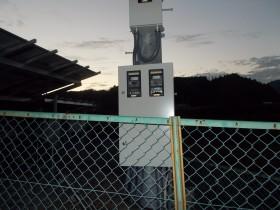 吉野郡空地太陽光発電設置2-2