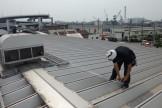 折板屋根 採寸
