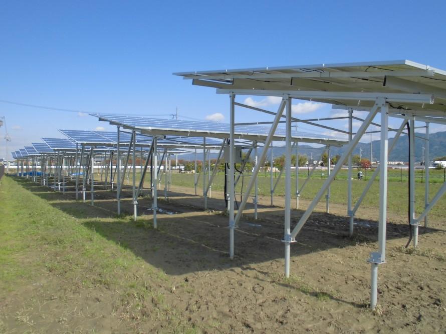奈良県初!ソーラーシェアリング