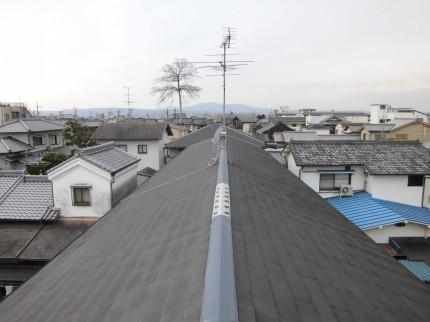奈良市ハイツ屋根太陽光発電設置1-2