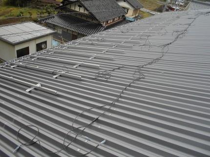 福知山市 太陽光 架台