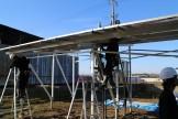 ソーラーシェアリング工事