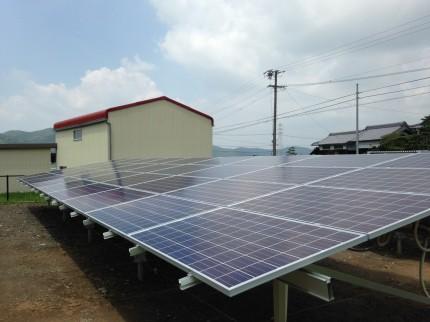 伊賀市太陽光発電設置