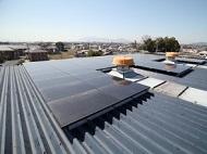 斑鳩町:工場ソーラーフロンティア11.84kw