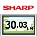 SHARP 30.03KW